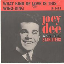 JOEY DEE & STARLIGHTERS--PICTURE SLEEVE ONLY--(WHAT KIND OF LOVE IS THIS)-PS-PIC