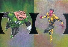 DC COMICS THE NEW 52 2012 CRYPTOZOIC U PICK SINGLE INSERT CARDS LNTRN 1 - 9