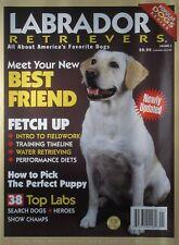 LABRADOR RETRIEVER Popular Dog Series Book By Dog Fancy Magazine 130 Pages NEW