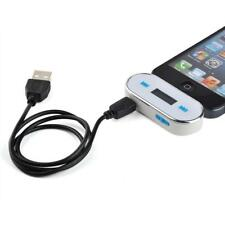 Wireless Music to Car Radio FM Transmitter For 3.5mm MP3 iPod Phones Tablet W BT