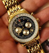 KRUG BAUMEN Mens Air Traveller Diamond Watch 400104DS                         *I
