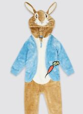 M&S Beatrix Potter Peter Rabbit Pyjama All In One JumpSuit BNWT Age 3-4 Years