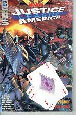 Justice League America Rw Lion/ DC comics #7 Blisterato con Cards