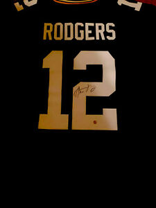 Aaron Rodgers Autographed On Field Game Jersey Steiner Sports Authentication MVP