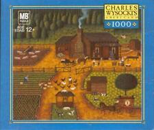 Charles Wysocki 2005 Hasbro Jigsaw Puzzle Pioneers