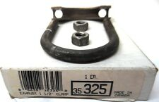 "EXHAUSE PIPE CLAMP, 1-1/2"" SIZE, 35325, 13 GAUGE, 5/16"" U-BOLT DIA."