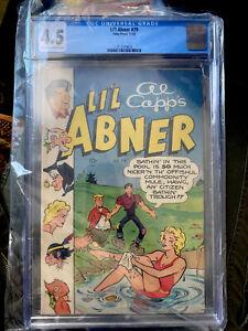Li'l Abner #79 Year 1950-Toby-Al Capp-Daisy Mae swimsuit CGC 4.5