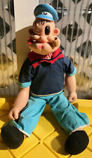 Vintage Gund 1958 King Features Popeye 21� Character Doll #411