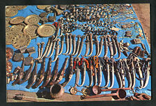 Posted C1980s: View of Daggers & Metal Work, Market Stall, Morocco