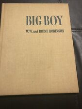 Big Boy by W.W. & Irene Robinson 1944 Hc Wwii German Shepherd Dog Soldiers