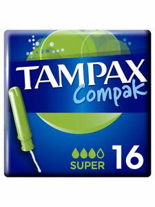 TAMPAX / Гигиенические тампоны Compak super 16шт.