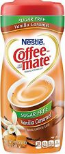 Coffee-Mate Vanilla Caramel, Sugar-Free Powdered Coffee Creamer 10.2 oz (9 pack)