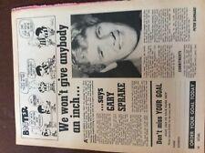b1q ephemera football 1960s picture article leeds united gary sprake