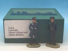 FRONTLINE FIGURES LUFTWAFFE OBERST GALLAND & OBERST MOLDERS LF2 54MM