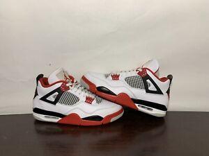 Jordan 4 Fire Red 2020 size 11.5 VNDS worn 3-4x
