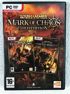 Warhammer: Mark of Chaos - Gold Edition - Windows PC - Complete - Deep Silver