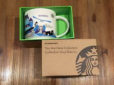 Starbucks YOU ARE HERE YAH Canada Collection - Quebec 14oz (With Accent Mark) V2