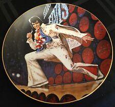 "Elvis Presley In Concert ""Aloha from Hawaii"" #9077 Plate w/Original Box & Coa"