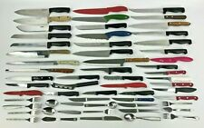 59 Pieces Lot of Kitchen Knives, Cutlery, Tableware, Silverware, Flatware