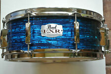 """Add this Pearl 14"""" Exr Export Blue Strata Snare Drum to Your Drum Set! Lot #Z723"""