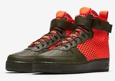 Nike SF AF1 Air Force 1 Mid QS   UK 12 EUR 47.5 US 13   AA7345 300 Green Orange
