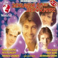 World of Schlager der 80er Jahre Gene Martin, Wolff Gerhard, Roy Black,.. [2 CD]