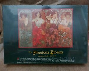 Alphonse Mucha The Precious Stones  Jigsaw Puzzle...(Sealed)