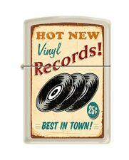 Zippo 207 RECORDS VINTAGE hot new vinyl best music in town poster RARE Lighter