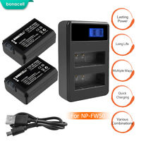 NP-FW50 Camera Battery or Charger for Sony A6000 A6500 A6300 A7S A7II A7SII TP