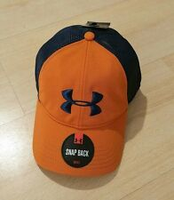 New Men's Under Armour  Mesh Hat Adjustable Snap Cap Lid  One Size