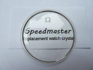 NEW OMEGA SPEEDMASTER WATCH GLASS/CRYSTAL/PLEXI MOON/861/321 PROFESSIONAL.