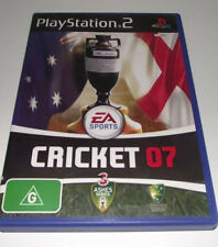 EA Sports Cricket 07 Ashes PS2 PAL *Complete*