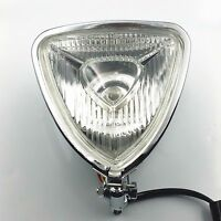 Triangle Motorcycle Headlight Streetfighter Cruiser Chopper Bobber Cafe Racer XL