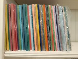 Stampin' Up! Card Stock, Retired and Current Colors, Full and Partial Packs
