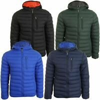 Tokyo Laundry 'Talus' Mens Quilted Puffer Jacket - Hooded