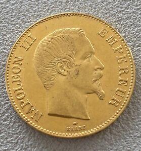 100 Fr. or Napoléon III  1857 Paris