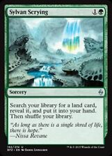SYLVAN SCRYING NM mtg Battle for Zendikar Green - Sorcery Unc