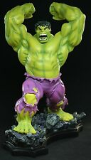 BOWEN SIGNED & SKETCHED Smashdown HULK STATUE COLOR  NIB!! SIDESHOW Red Figure .