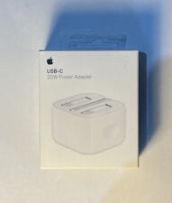 More details for genuine apple 20 w usb type-c power adapter uk plug white