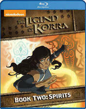 The Legend of Korra: Book Two - Spirits (Blu-ray Disc, 2014, 2-Disc Set)