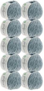 Lana Grossa 500g Wollpaket Lana Grossa Wolle Landlust Merino 180 Farbe 225, GOTS