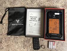 VOICE CADDIE SC100 SWING CADDIE PORTABLE LAUNCH MONITOR BLACK NEW DEMO (I2)