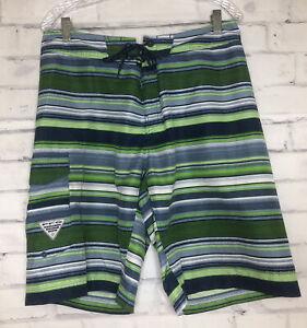 Blue Size 36 Omni-Shade NWT Fishing Columbia PFG Super Grander Marlin Shorts