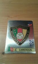 N°134 BADGE LOGO FOIL # CAMEROUN PANINI USA 94 WORLD CUP ORIGINAL 1994