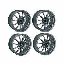 4 x Team Dynamics Pro Race 1.2 Graphite Satin Alloy Wheels 15x7"