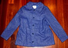 NWT NEW Gymboree Enchanted Winter Blue Sparkle Holiday Christmas Coat S 5 6 $64
