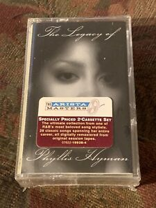 NEW The Legacy Of Phyllis Hyman 2 tapes Cassette Sealed