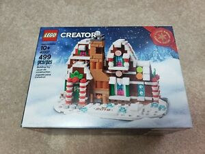 LEGO 40337 Creator Limited Edition Gingerbread House New Sealed SHIP Right away