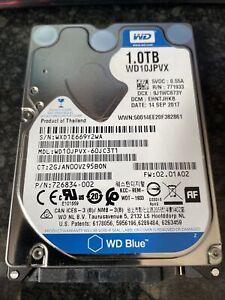 1TB WD Blue 2017 Hard Drive WD10JPVX