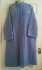 Ladies St Michael Blue Dressing Gown Size 18-20 BNWT